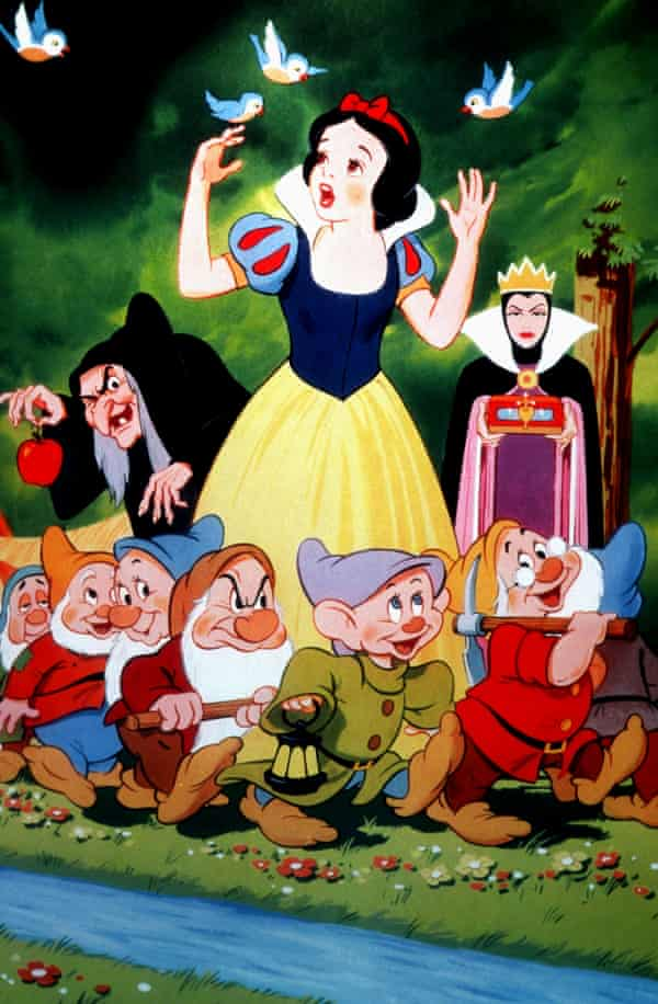 Snow White and the Seven Dwarfs, from 1937.