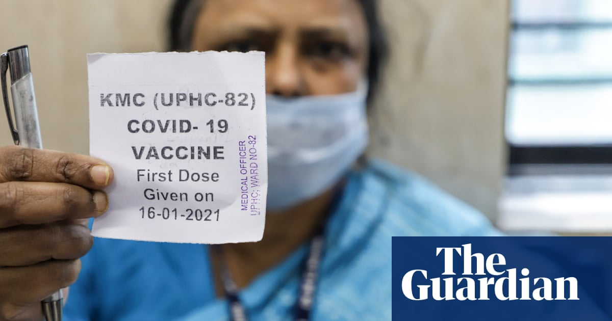 'We are worried': Indians hopeful but anxious as vaccination drive begins