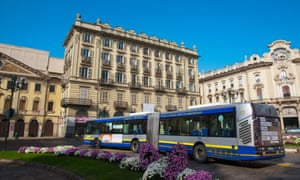 Buses in the northern Italian city of Turin have been free to use for two days this week.