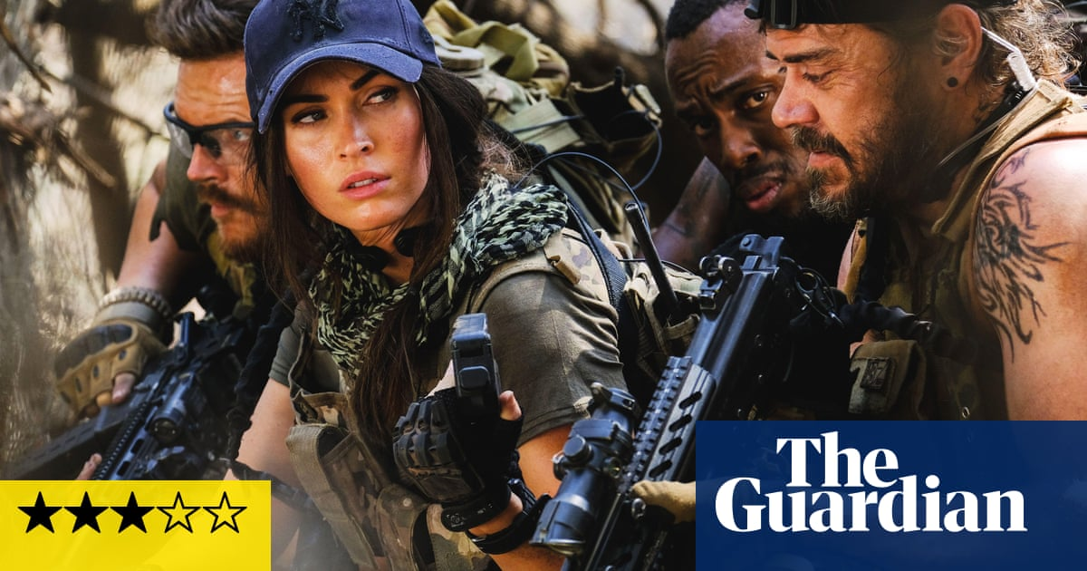 Rogue review – its Megan Fox v stalking lion in an energetic action thriller