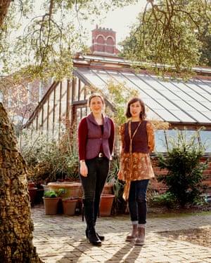 Tamara Bridge, left, and Kate Savill