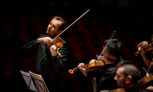 Richard Tognetti and the Australian Chamber Orchestra.