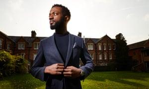 Dylan Kawende at St Edmund's College, Cambridge
