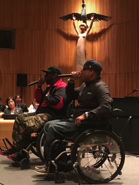4 Wheel City perform at the United Nations.