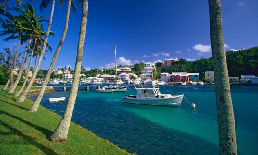 Flatts Inlet, Bermuda.