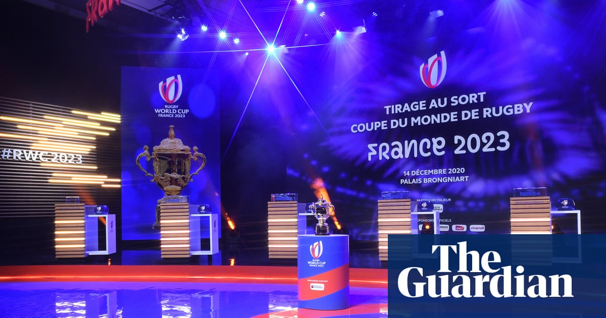 Rugby World Cup draw whets appetite for France serving up a classic in 2023
