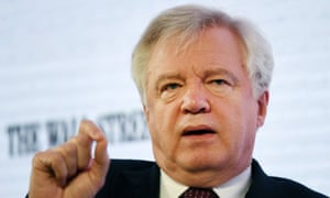 David Davis speaking at a Wall Street Journal conference