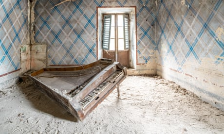Abandoned pianos in derelict buildings – in pictures