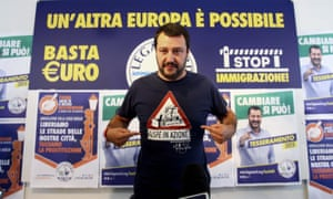 Matteo Salvini, leader of Italy's Northern League, has called for a referendum but his party scored poorly at the last general election.