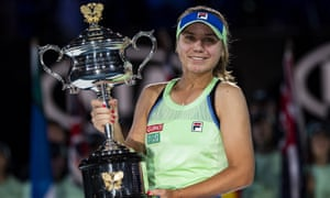 Sofia Kenin of the US was a surprise winner of the Australian Open women's singles in Melbourne this year.
