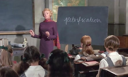 Haughty and imperious in The Prime of Miss Jean Brodie.