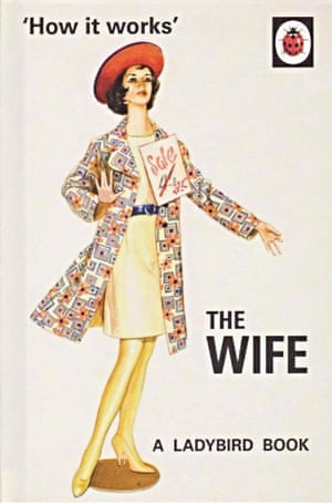 Jacket for The Wife one of the Ladybird books for grownups