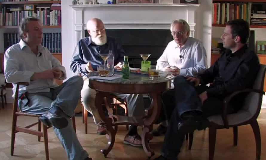 Dangerous truths … From left: Christopher Hitchens, Daniel Dennett, Richard Dawkins and Sam Harris.