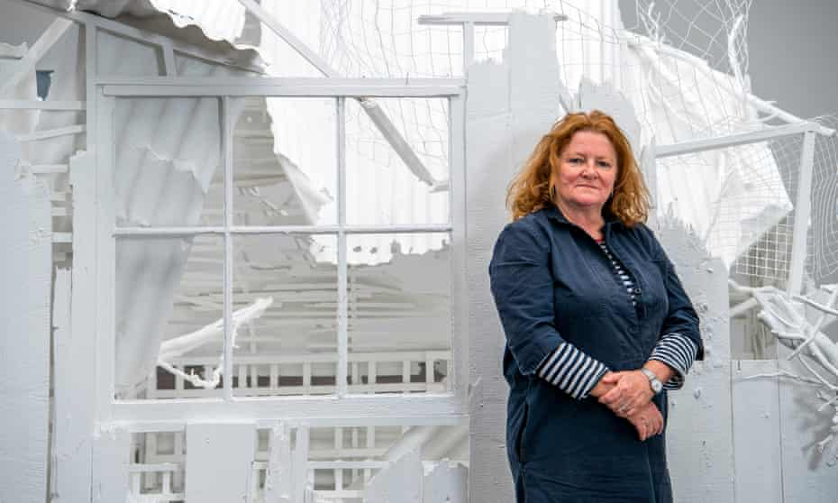 Rachel Whiteread with Doppelgänger.