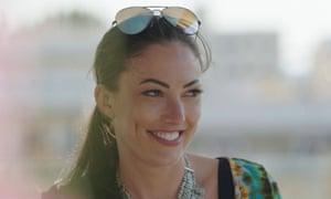 Sophie Gradon on Love Island