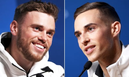 Gus Kenworthy and Adam Rippon are both Olympic medalists
