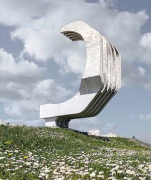 Monument to the Fallen Fighters of Golubovci, 1974, by Slobodan Boba Slovinić and Vukota Tupa Vukotić.