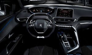 Inside story: the interior features twin screens, the excellent i-Cockpit and actual, real buttons