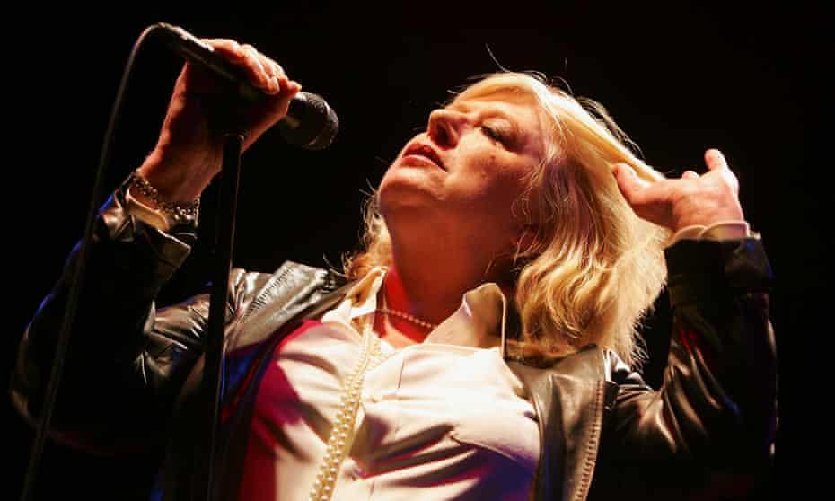 Marianne Faithfull plays the Queen Elizabeth Hall, London, in 2005.
