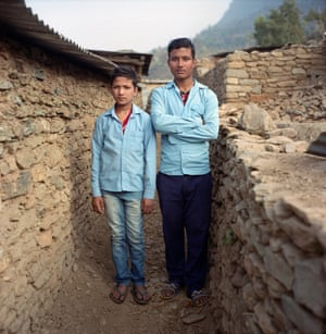 Rakesh Lamicchane, 17 and Ranjit Bishokarma, 11