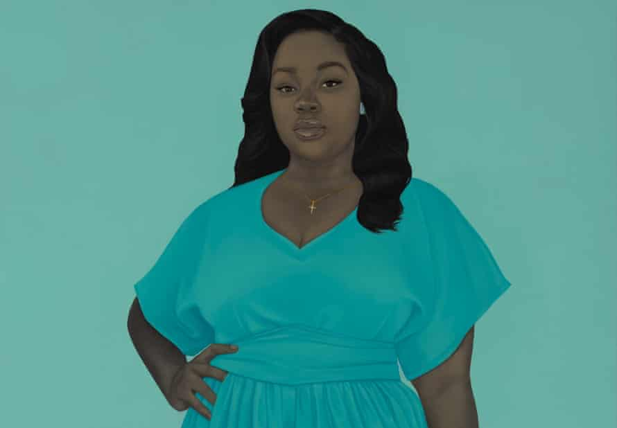 Breonna Taylor by Amy Sherald.
