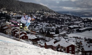 Lindsey Vonn raced flat out whenever she had the chance