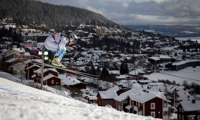8d8b314324 Lindsey Vonn: a daredevil champion never afraid to show her scars   Sport    The Guardian