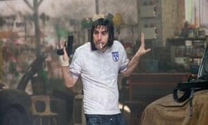 Sacha Baron Cohen in Grimsby.
