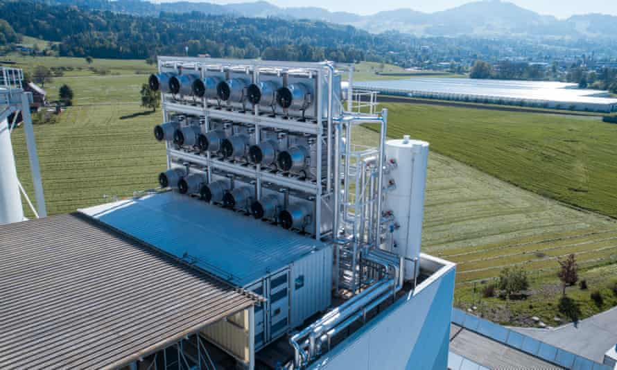 Climeworks, the world's first direct air capture plant