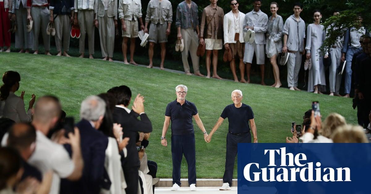 Armani's menswear confirms in-person future of Milan fashion week