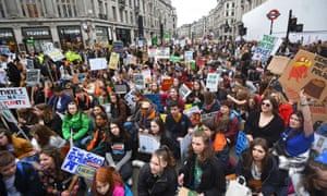 Climate protesters bring London's Oxford Circus to a standstill on Friday.