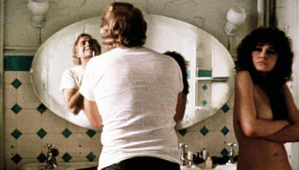 Marlon Brando and Maria Schneider in Last Tango in Paris (1972), a film criticised for its allegations of non-consensual sex scenes.