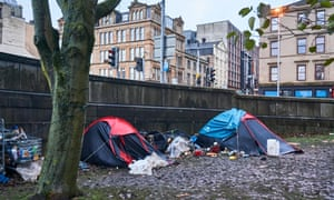 Tents in Glasgow