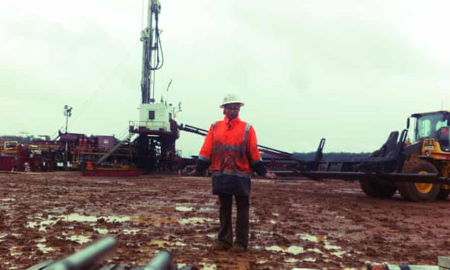 Yassmin Abdel-Magied, engineer and 2015 Young Queenslander of the Year, works on an oil rig with 150 men