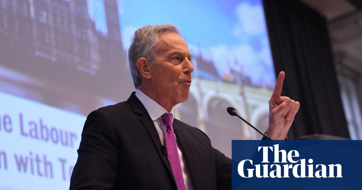Tony Blair: only a complete renewal of Labour will do