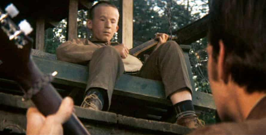 Doorstep duel … the 1972 film adaptation of Deliverance.