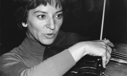 Wanda Wilkomirska's playing was intuitive and silken-toned.