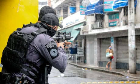 'Instead of doctors, they send police to kill us': locked-down Rio faces deadly raids