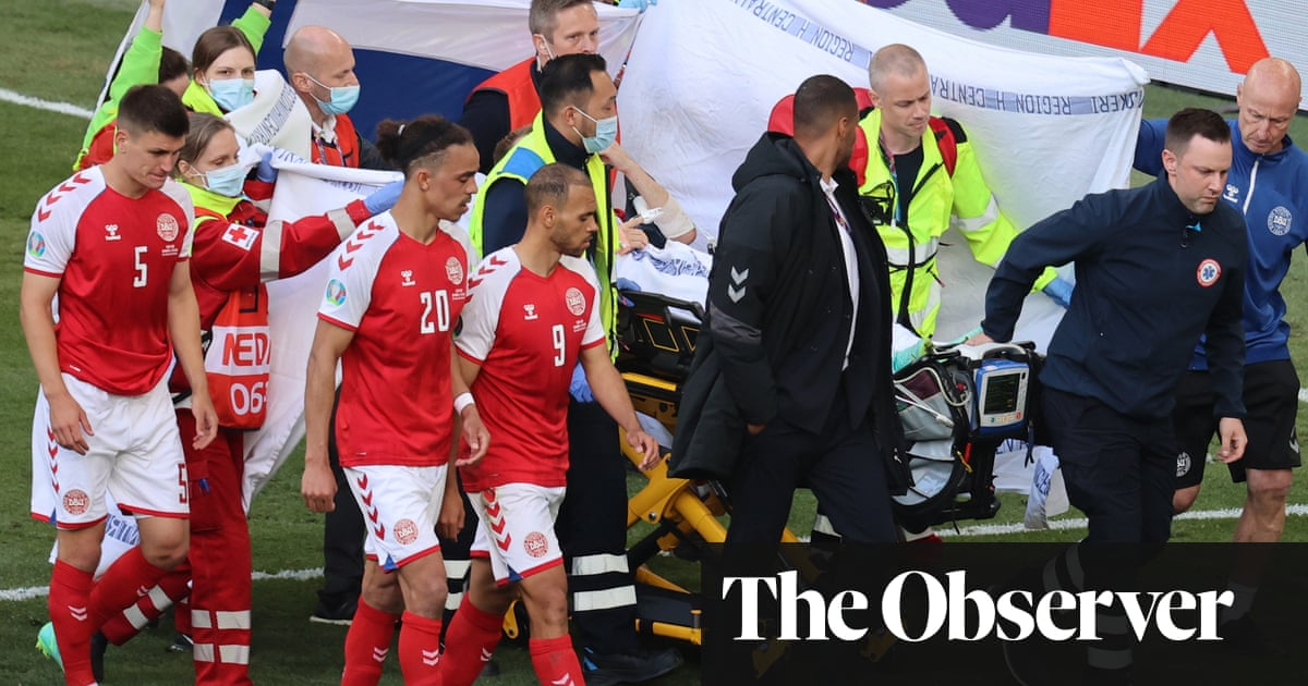 The day Denmark stood still: Christian Eriksen's collapse and the heroes who saved him