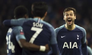 Fernando Llorente celebrates after scoring the first of his three goals.