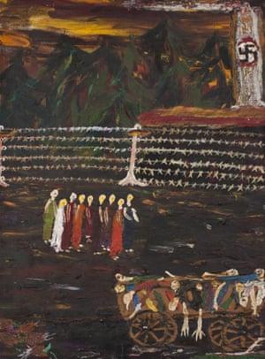 Untitled (1994) by Ceija Stojka.