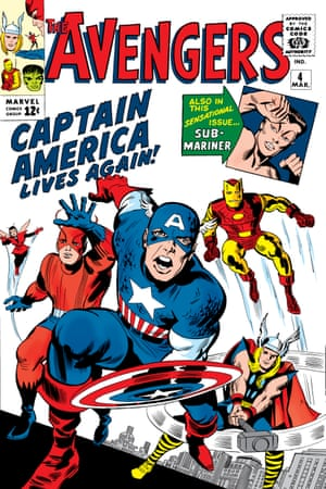 The Avengers #4, from 1963