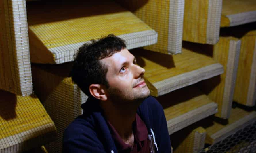 Alex Wragge-Morley in the anechoic chamber: 'It was like being transported into a surrealist film.'