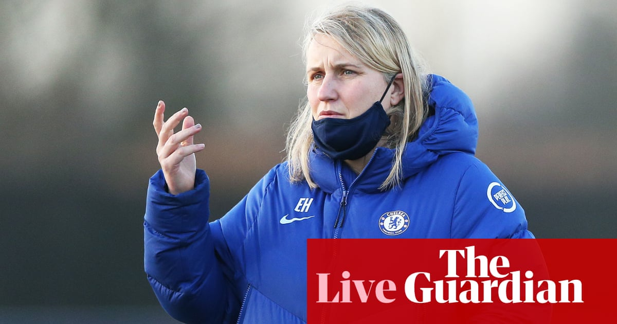 Chelsea and Manchester City battle for title on final day: Women's Super League – live!