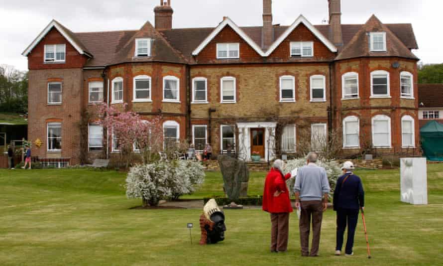 Birtley House nursing home in Surrey.