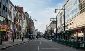 Quiet Oxford Street