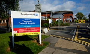 A central food collection point will sit by the canteen at Tameside hospital.