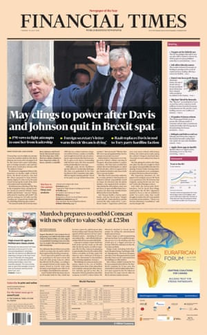Financial Times 10 July 2018