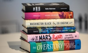The books shortlisted for last year's Man Booker prize