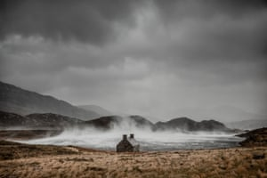 Dougie Cunningham Shelter from the Storm, Loch Stack in Sutherland, Scotland, which has won the Classic view